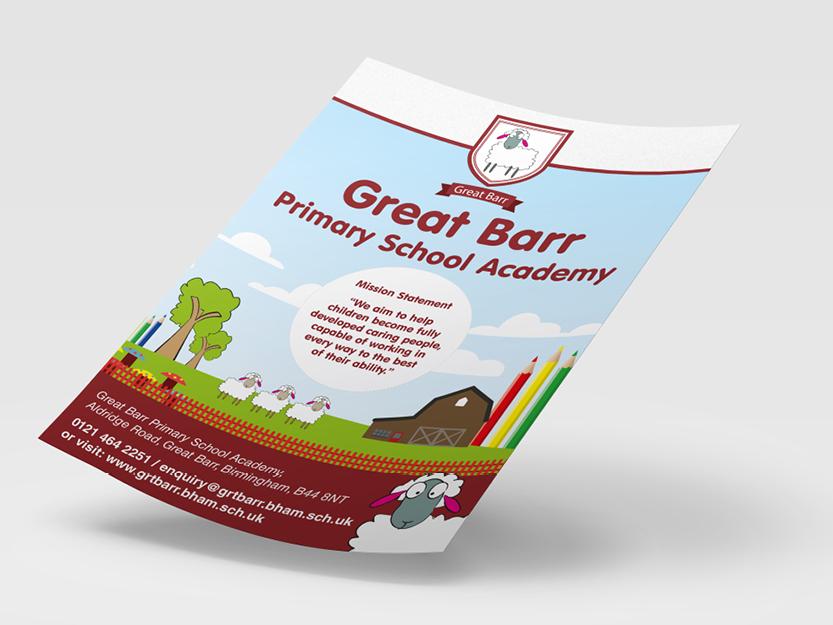 Great Barr Primary School Academy flyer