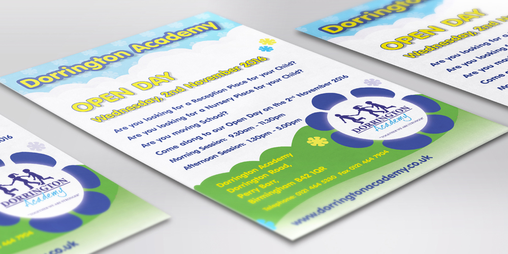 Dorrington Academy flyer