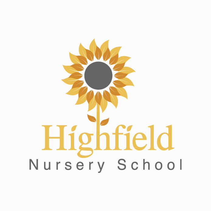 Nursery Logo design of Highfield Nursery School
