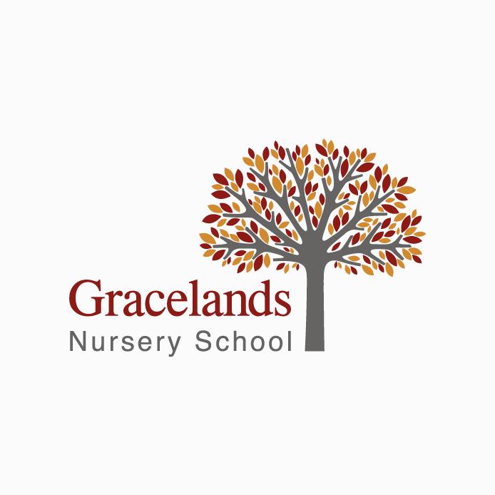 Nursery Logo design of Gracelands Nursery School