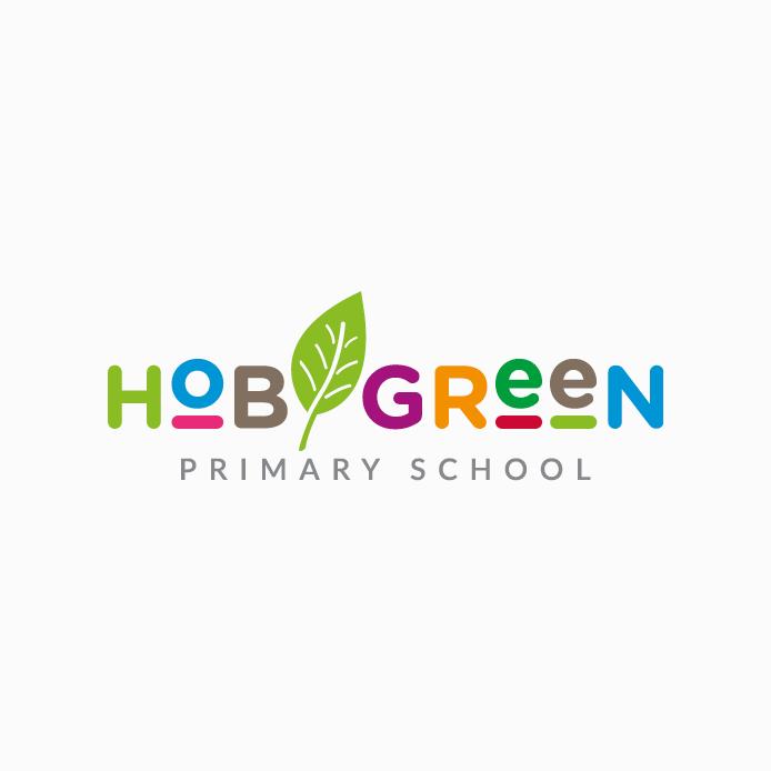 School Logo design of Hob Green Primary School