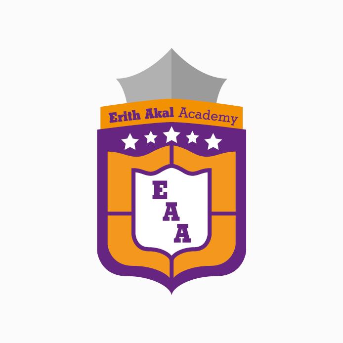 Academy Logo design of Erith Akal Academy