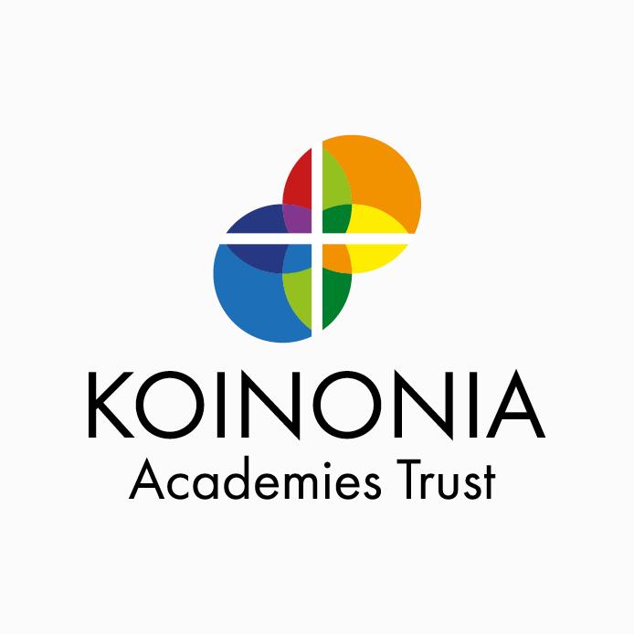 Academy Trust Logo design of Koinonia Academies Trust