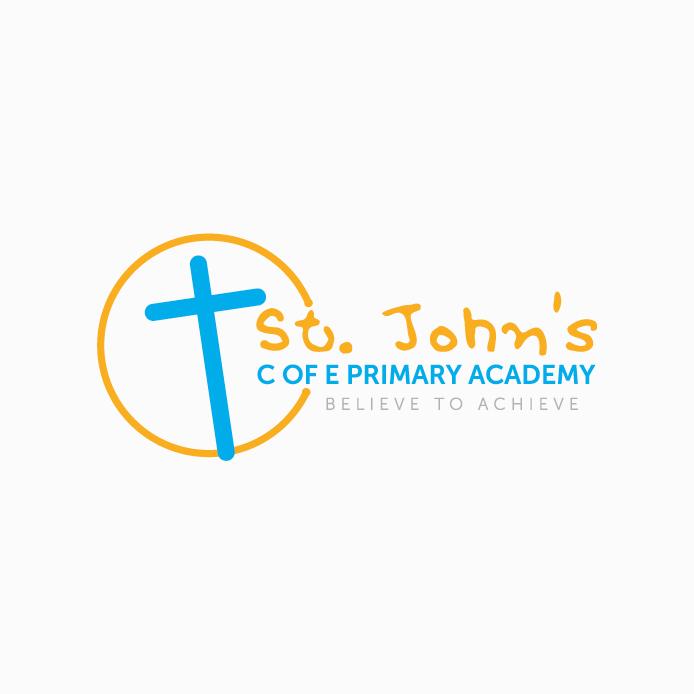 School Logo design of St John's CofE Primary Academy