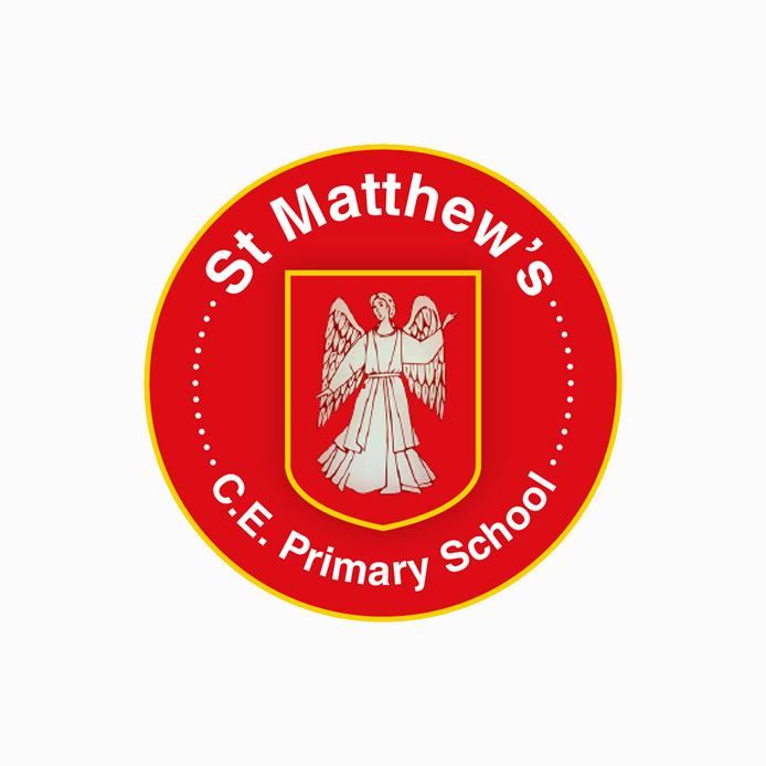 School Logo design of St Matthew's C.E. Primary School