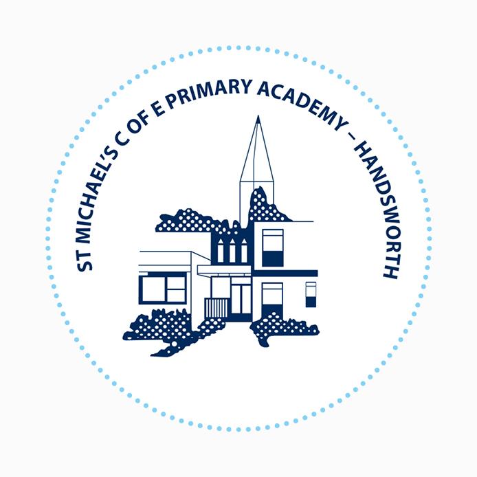 School Logo design of St Michael's C of E Primary School