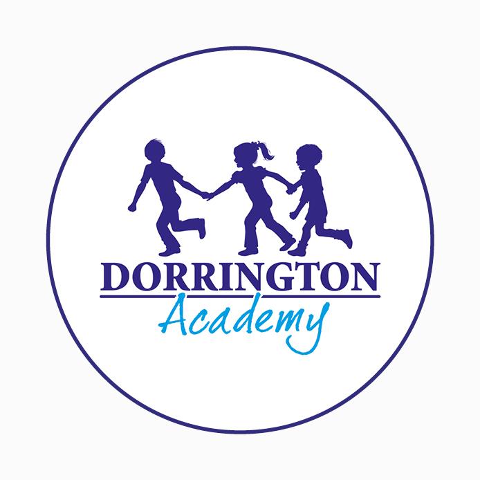 Academy Logo design of Dorrington Academy