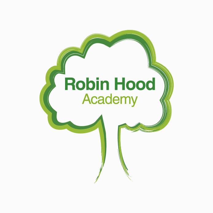 School Logo design of Robin Hood Academy