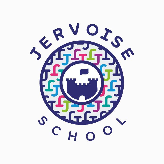 School Logo design of Jervoise School