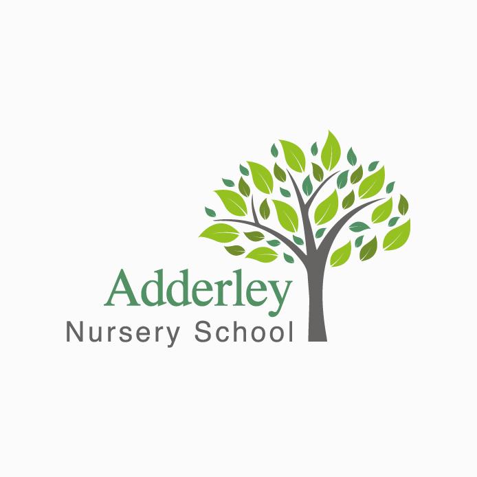 Nursery Logo design of Adderley Nursery School