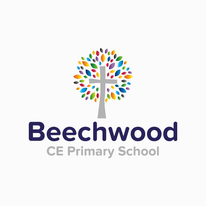 School Logo design of Beechwood CE Primary School